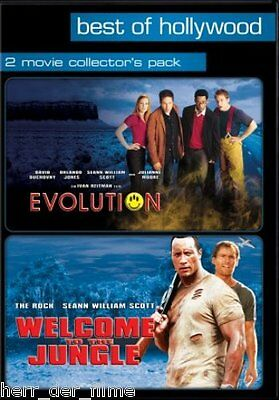 EVOLUTION + WELCOME TO THE JUNGLE (2 DVDs) NEU+OVP