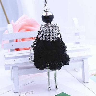 Fashion Women Girl Sweater Chain Doll Long Necklace Doll Pendant Charm q