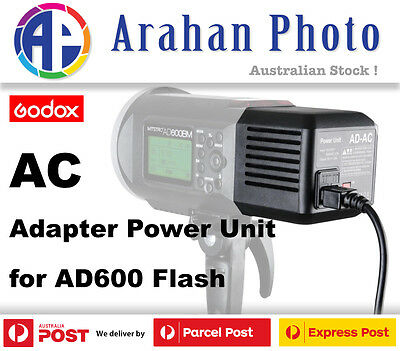 Godox Ad-Ac Ac Power Adapter Unit For Ad600/b/m/bm
