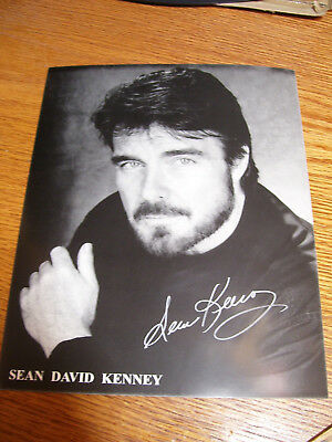 """Sean Kenney Star Trek OS Signed Autographed 8x10 Photo """"The Menagerie"""" Capt PIKE"""