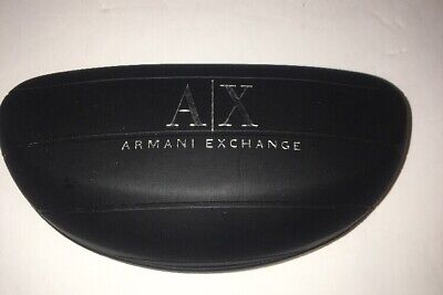 b1bb0050a537 ARMANI EXCHANGE A X Sunglasses Black Hard Small Clam Shell Case + ...