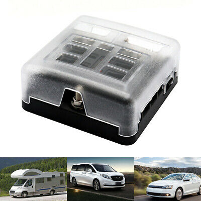 Enjoyable Universal 6 Way Blade Fuse Box Boat Bus Car Automotive 12V Holder Wiring 101 Tzicihahutechinfo