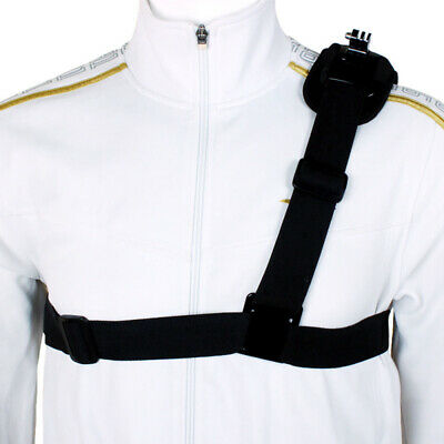 Shoulder Chest Strap Mount Harness Belt For GoPro Hero 3 3+ 4 Session CA