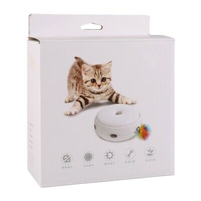 Pet Cat Funny Electric Toy Smart Teaser Interactive Kitten Rotating Designed Toy