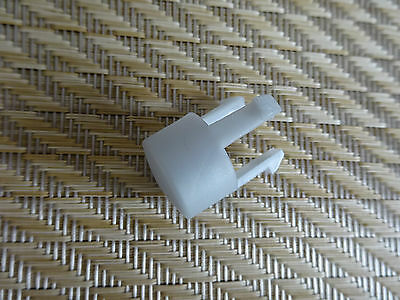 Maxi Cosi MURA - Parts Grey Foot Rest BUTTON Clip for Seat Unit Frame