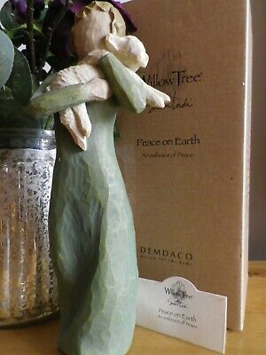 """WILLOW TREE by Susan Lordi  ~ """"Peace On Earth"""" ~ FIGURINE 2002 ~   BOXED"""