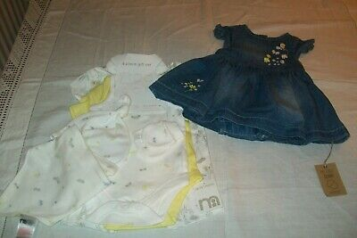 Baby girls clothes dress & set Mothercare 0-1m - combined postage available