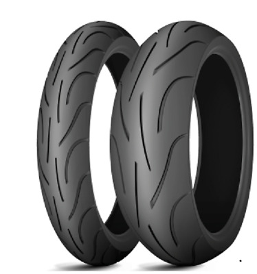 Satz 120/70 ZR 17 58W + 180/55 ZR 17 73W Michelin Pilot Power