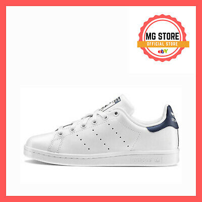 Adidas Stan Smith Bianco Blu M20325 Scarpe Shoes Sneakers Blue Donna Uomo Man