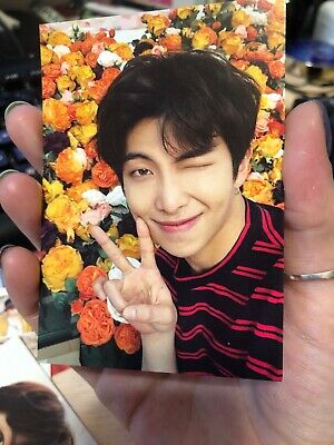 RM BTS Official Love Yourself World Tour Japan limited Card