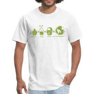 Earth Day Reduce Reuse Recycle Men's T-Shirt by Spreadshirt™