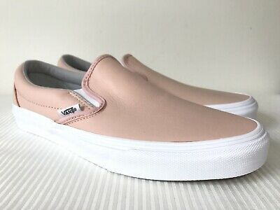 11498de0ff Vans Classic Slip-On Leather Oxford Evening VN0A38F7QD6 NWOB DS Men s SZ 8.5