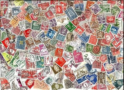 100  SCANDINAVIA STAMP selection kiloware  100 mostly different off paper G/U