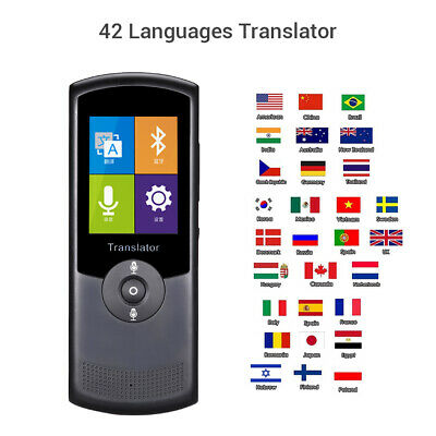 "Wireless Wifi Translator 2.4"" Touch Screen Real Time Translation for Learning"