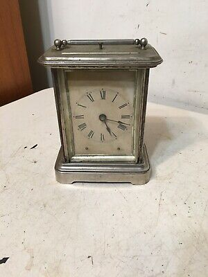 Rare Antique Ansonia Tally Ho Repeater Alarm Carriage Clock