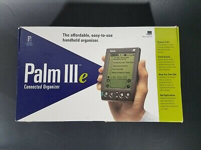 Palm IIIe 3com Connected Organizer - New Old Stock in Opened Box