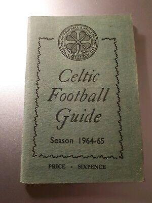 Celtic Wee Green Book - 1964-65 - VGC Football Guide 1
