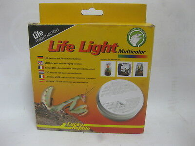 Lucky Reptile Life Light Multicolor LED Rund - LED-Lampe Licht