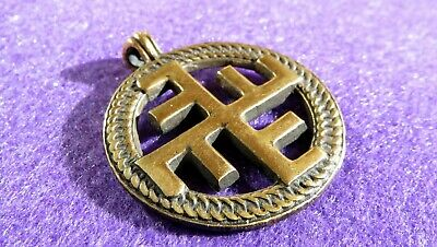 "Ancient Scythian Bronze ""Heavenly Cross"" powerful solar symbol Replica/Amulet #1"