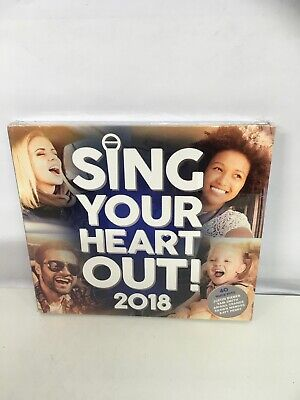 Sing Your Heart Out 2018 CD NEW Sealed. Freepost In Uk.