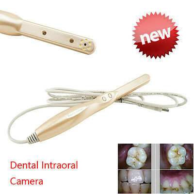 Dynamic 4 Mega Pixels 6LED Dental Intraoral Intra Oral Camera 2 CMOS Sensor LAB