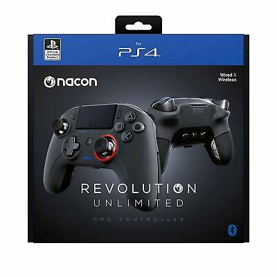 PlayStation 4 PS4 Nacon Revolution Unlimited Pro Controller DISPATCH BY 2 P.M.