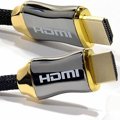 0.5M 1m 2M 3m - 5M PREMIUM HDMI Cable v2.0 High Speed 4K UltraHD 2160p 3D Lead