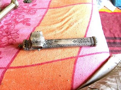 antik silver /Ottoman time very rare  divid/kullumare/with sculptoor