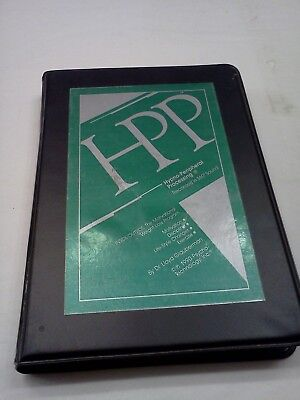 Hpp Hypno Peripheral Processing Dr. Lloyd Glauberman 2 Cassette Tapes New