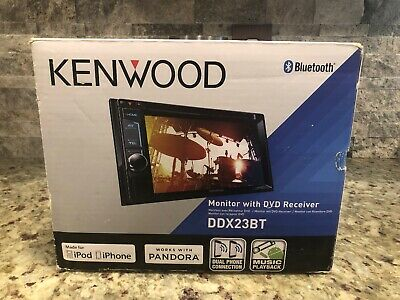 NEW KENWOOD DDX23BT 2 DIN DVD/CD Player Android iPhone App