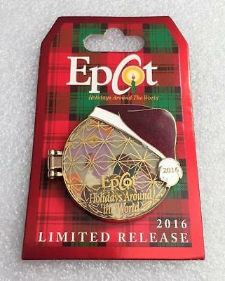 Disney WDW Epcot Holidays Around The World 2016 Figment Logo Limited Pin