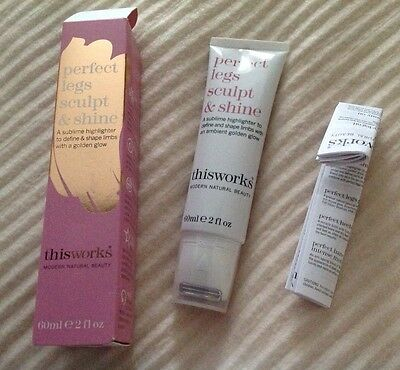 THIS WORKS PERFECT LEGS SCULPT & SHINE HIGHLIGHTER 60ml