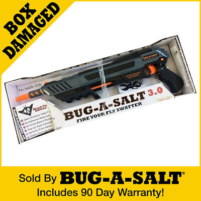 Damaged Box Authentic BUG-A-SALT 3.0 Black Fly Insect Eradication Salt Gun