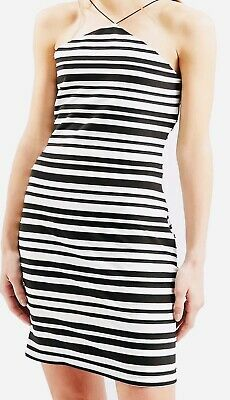abb6665a90 EX TOPSHOP STRIPE Mini Shirt Dress TALL Size 4 - 16 RRP £42 - £16.95 ...