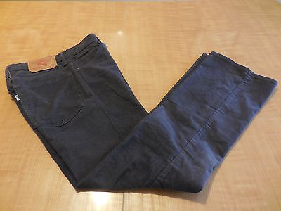 Vtg. Levi's 517 Corduroy 28 X 29 Brown Mens Pants Made In Usa