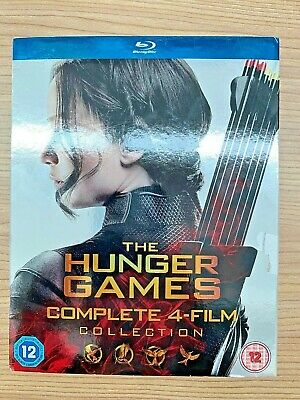 The Hunger Games Complete 4 Film Collection [Blu-ray Region 2]