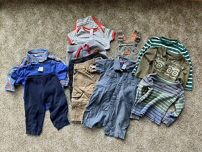 090d79205960 Minimalist Clothing Spring Lot Toddler Boy 12-24 month/2T Carters Gap Baby  Boden