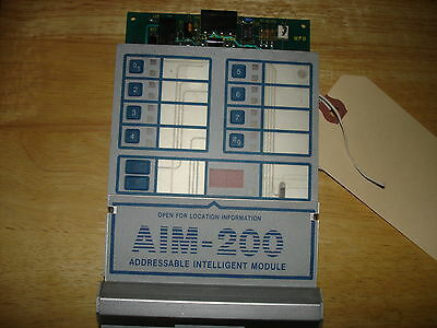 "Notifier Aim 200   ""Used"""