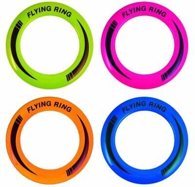 """10"""" Neon Flying Ring Disc Frisbee Flyer Adult Kids Family Outdoor Play Toy"""