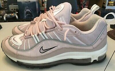 f63568a662aeb Nike Air Max 98 Barely Rose Pink   White Running Shoe Women s Size 10 AH6799 -