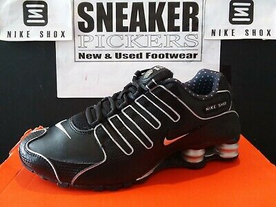 official photos 45906 f44b8 Nike Womens Shox NZ EU - 488312 002 - Black   Metallic Silver - Womens Size