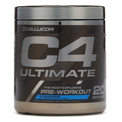 Cellucor C4 Ultimate Pre-Workout Experience Fully 20 servings