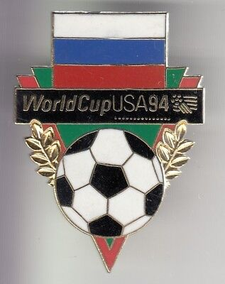 Rare Pins Pin's ..  Football Soccer World Cup Usa 94 Russie Russia  Big 3D ~Dy