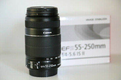 Canon Zoom EF-S 55-250 mm. F. 4-5.6 IS II