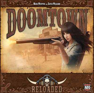 Doomtown Reloaded Card Game $39.99 Value (Alderac Entertainment Group)