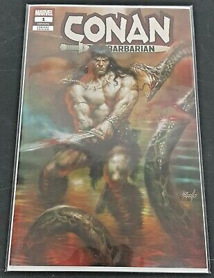 Marvel Conan the Barbarian #1 Variant Cover by Lucio Parrillo