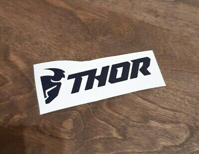 Thor Vintage Decal Sticker Track Race Drag Vinyl Logo Repro Moto