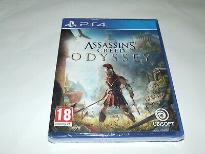 Assassin`s Creed : Odyssey Ps4 Playstation 4 New Factory Sealed!
