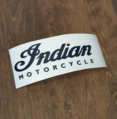 Indian Motorcycles Vintage Decal Sticker Track Race Drag Vinyl Logo Repro