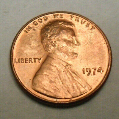 1974 P Lincoln Memorial Cent / Penny  *AU OR BETTER*  *FREE SHIPPING*